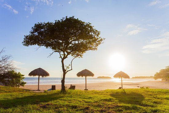 Tola, Nicaragua: Enjoy the best sunset in the Pacific Coast of Nicaragua, Punta Teonoste beach