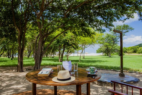 Tola, Nikaragua: Stunning view to the beach from the bungalows