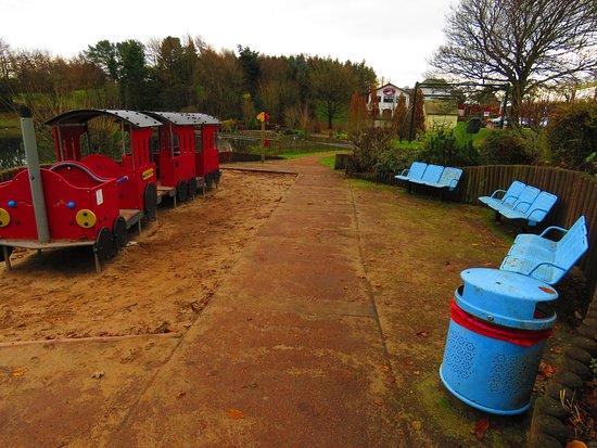 Lanark, UK: play area