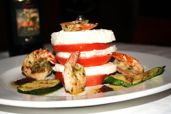 South Miami, FL: Torre Di Capri appetizer with shrimp