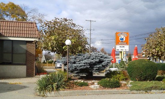Blenheim, كندا: The Home Run restaurant