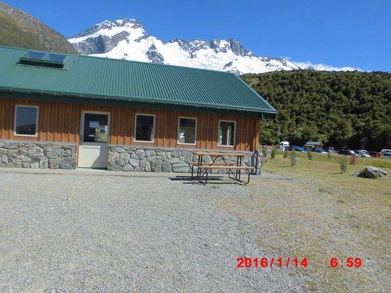 DOC White Horse Hill campsite