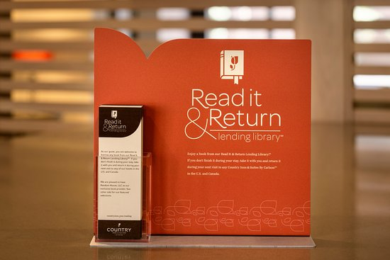 Country Inn & Suites By Carlson, Saskatoon, SK: Books available at the Read It & Return Lending Library.