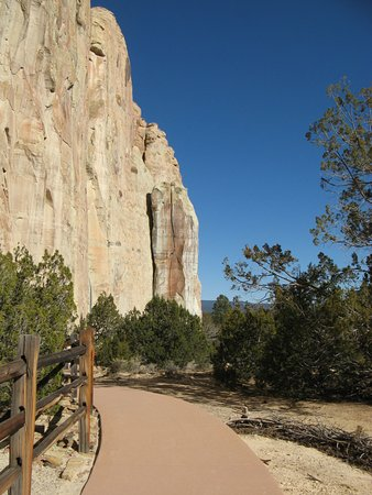 Ramah, NM: The Inscription Rock and Visitors' Path