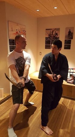 Samurai Museum: Being able to practice some of the forms with the Samurai master was the highlight of my day.
