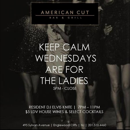 Englewood Cliffs, NJ: WOMENS WEDNESDAYS - $5 drink specials