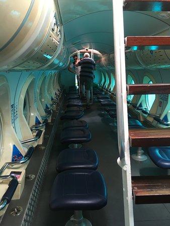 San Miguel de Abona, Spanien: Inside Submarine