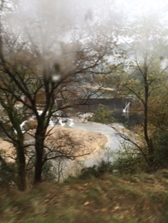 Tournon-sur-Rhone, Prancis: View from the train