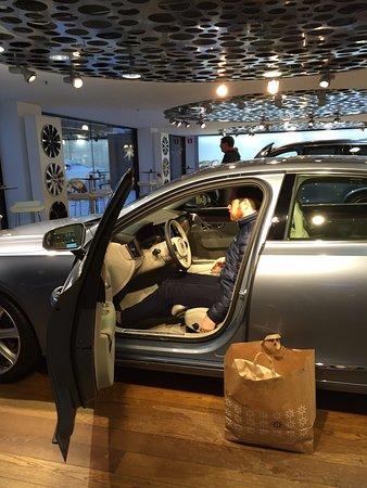 ستوكهولم, السويد: Inside a new Volvo model