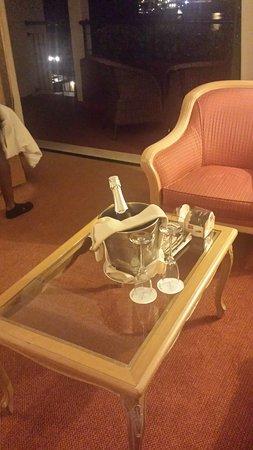 Hotel The Cliff Bay: Wilkommensgeschenk des Hotels