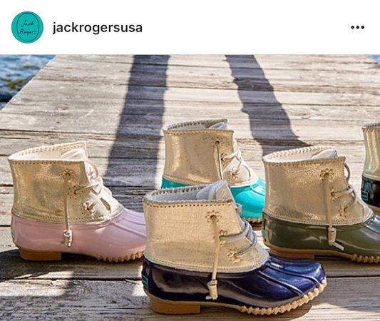 Bardstown, KY: Jack Rogers Duck Boots are all the rage this season! Find yours at Peacock on Third!