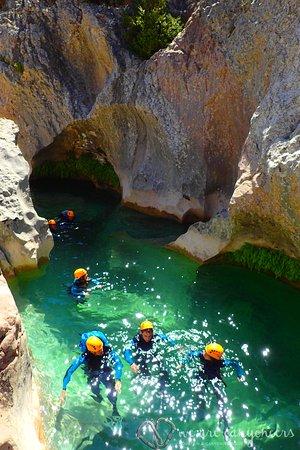Boltana, Espagne : Canyoning