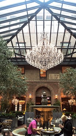 Main chandelier picture of restoration hardware chicago tripadvisor restoration hardware main chandelier aloadofball Images