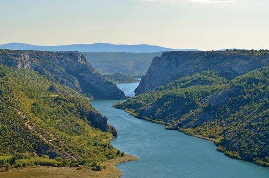 Skradin, Croacia: View from Niz Ploču Trail