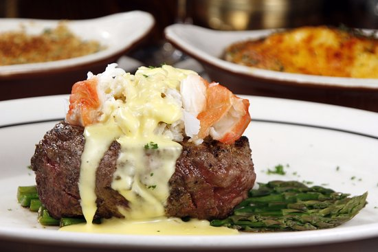 Sperry's Restaurant: Filet Oskar