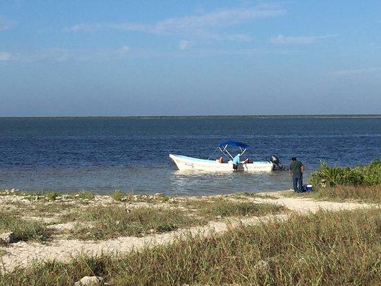 Yucatan, Mexico: boat pickup