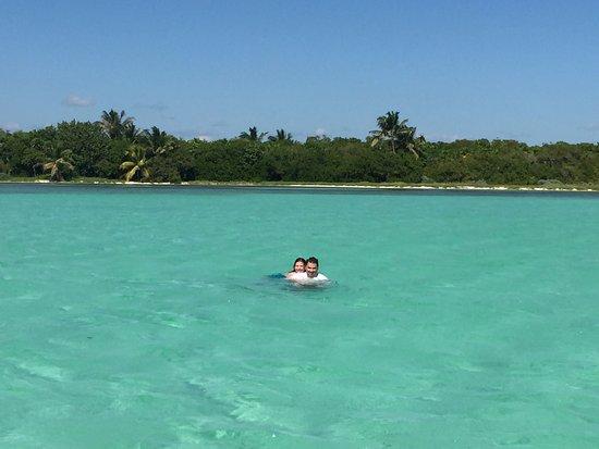 Yucatan, Mexico: bay in front of Punta Allen (paradise)