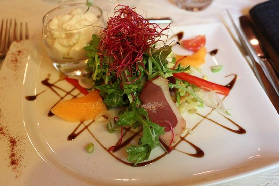 Rousset, Francia: Salade du moment