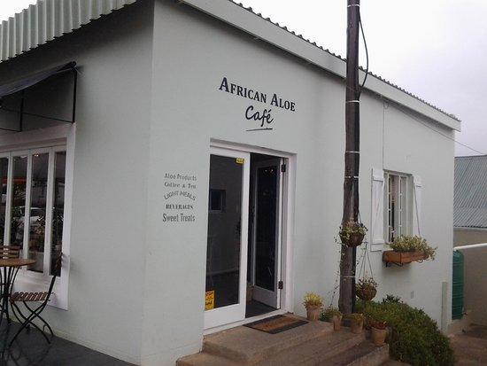 Uniondale, Sudafrica: Entrance to café