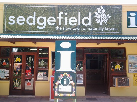 Sedgefield, South Africa: Clear signage