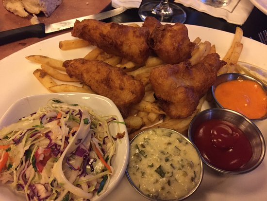 Orland Park, IL: Fish & Chips - fish not so fresh