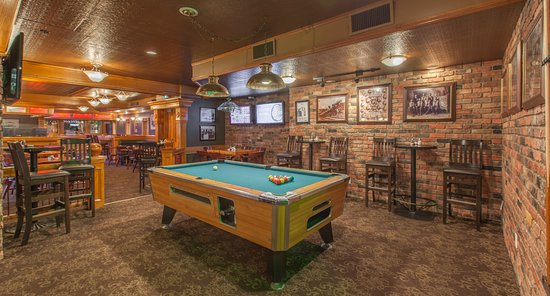 pool table picture of river city pub patio revelstoke