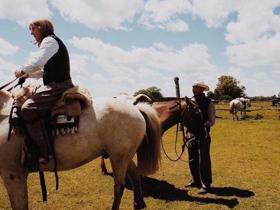 Estancia Los Dos Hermanos: Horse riding