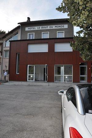 Saint-Flour, France: La partie rénovée du Bout du Monde