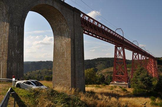 Saint-Flour, Francia: Viaduc de Garabit à moins de 10 minutes du Bout du Monde