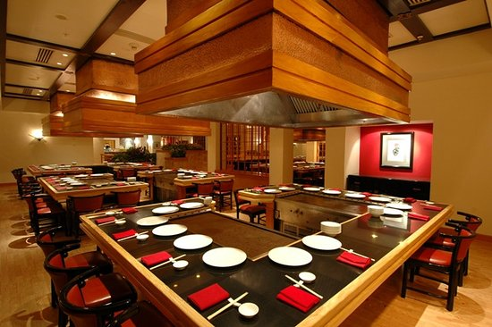 Mikado: You will love the delicious teppanyaki cooked right in front of you by our expert chefs.