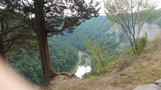 Letchworth State Park: View of the river