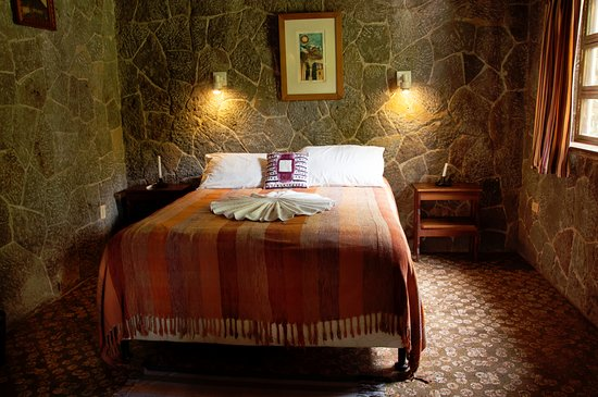 Posada de Santiago: Casa Quetzal, one of six Stone Cottages, each with a double & single bed