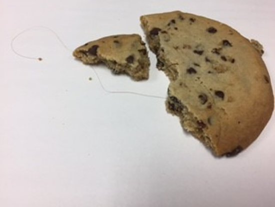East Windsor, NJ: Cookie with hair