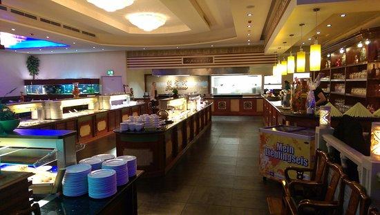 Das Buffet Und Die Halboffene Küche - Bild Von Reishaus Asia