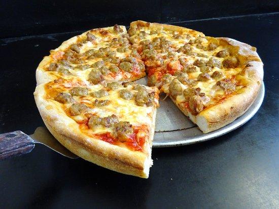 Berwick, PA: DEEP DISH PIZZA