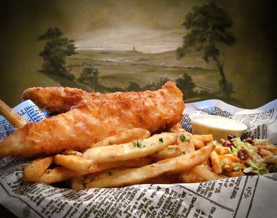 Μουριέτα, Καλιφόρνια: Fish & Chips