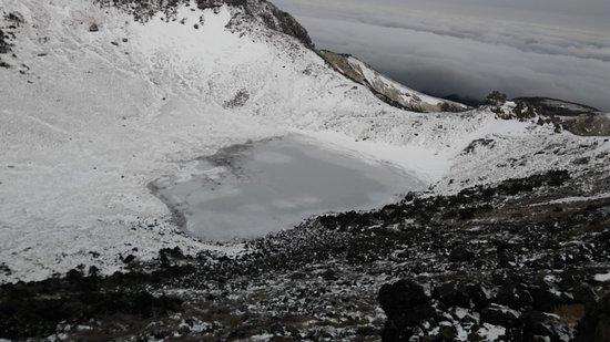 Hallasan National Park: 겨울에 방문하시면 아름다운 눈꽃을 보실수 있습니다 백록담은 기대하지 마세요 실망합니다 ㅜㅜ