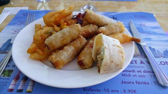Albertville, Fransa: Nems- beignets