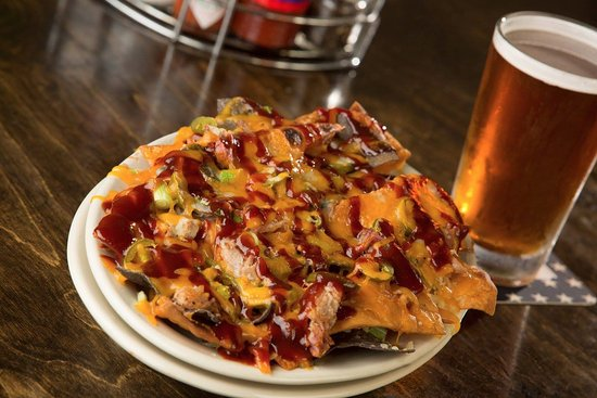 Madison, MS: Pulled Pig Nachos