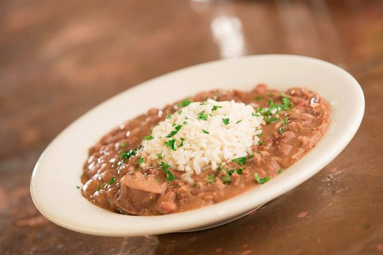 Oxford, MS: Red Beans and Rice