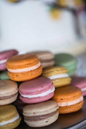 Flavor Cupcakery Bake Shop Wedding French Macarons