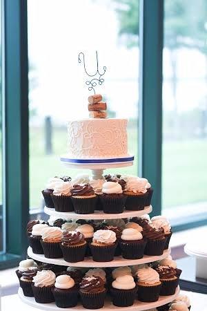 Bel Air, MD: wedding cupcake tower