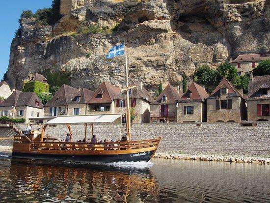 Cenac-et-Saint-Julien, France : Super Ausblicke vom Kanu