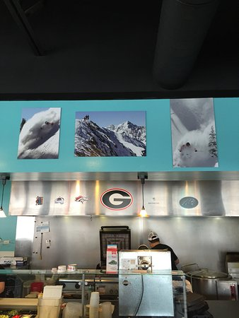 Thor's Southwest Grill has Great Food and features local Photographers and Athletes!