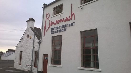 Forres, UK: Another view of Benromach.