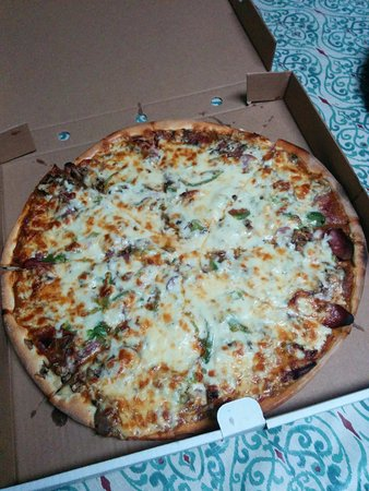 Pictou, Канада: Combo pizza - SO GOOD!