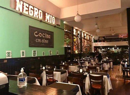 1d4eda1d Foto de Negro Mio Resto, Buenos Aires: Nuestro salon - TripAdvisor