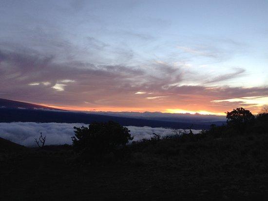 Mauna Kea Summit: going down the mountain