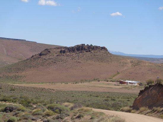 Junin de los Andes, Αργεντινή: Vista del Santuario de CEFERINO NAMUNCURÁ antes de llegar (recomendación de 10 a 16.30 hs-cierra