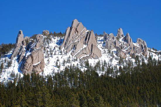 Red Lodge, MT: Our famous Palisades rock formations